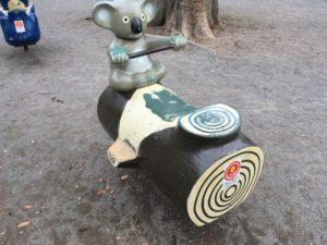 キリン公園-ばね遊具