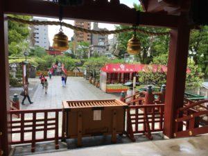 亀戸天神-お宮参り (7)