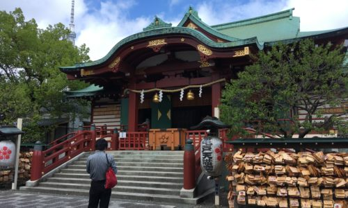 亀戸天神-お宮参り (9)